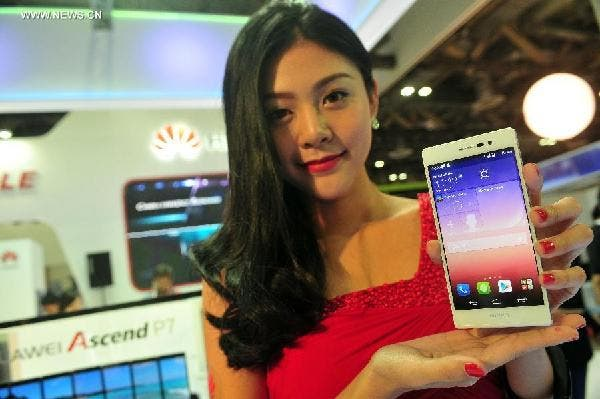 huawei ascend p7 million
