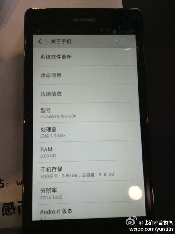 huawei g700 2GB RAM