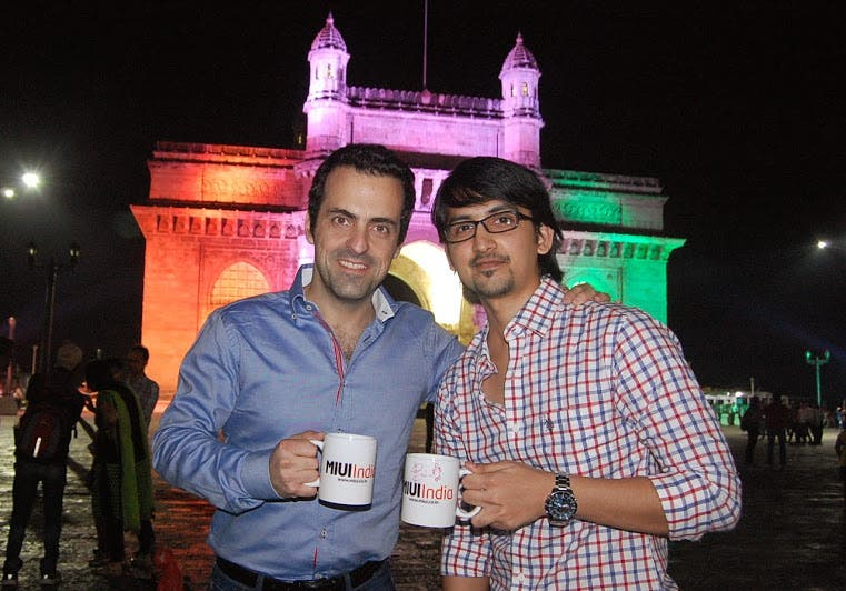hugo barra in india