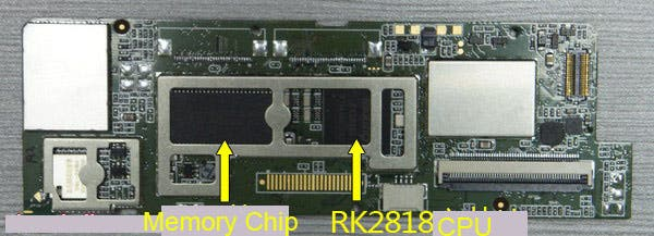 iRobot Tear Down Mother Board Rear