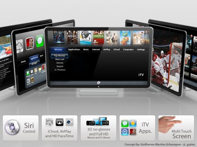 apple iTV concept picture,apple iTV concept image,apple tv,apple tv rumor,apple tv siri