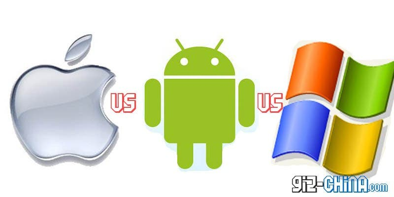 iOS Vs Android Vs Winows: Tablet O.S