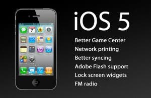 ios 5 for ipad 3