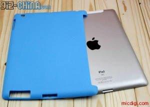 silicon smart cover rear ipad 2