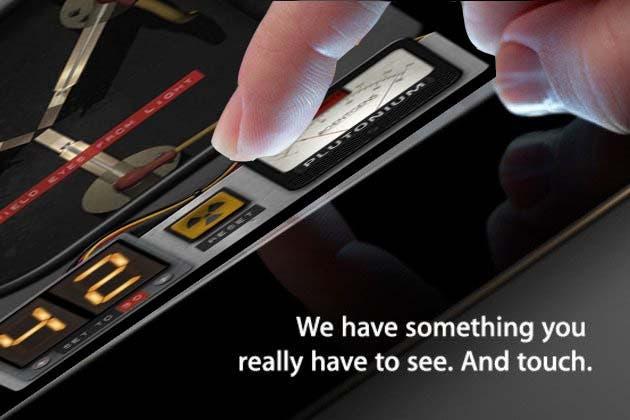 ipad 3 hd launched,iflux ipad, time travel