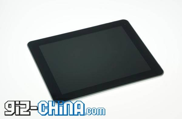 ipad 4 knock off china android tablet Zonge Android Tablet Looks Like an iPad 4!