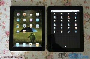 ipad clone running android with LG screens