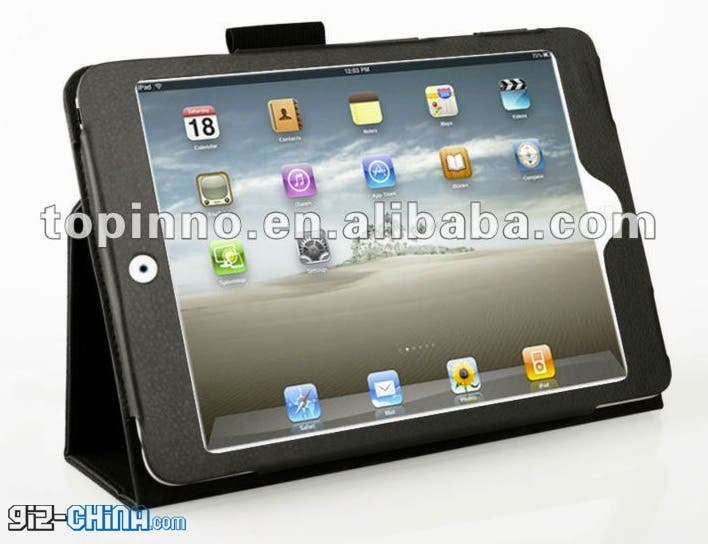 leaked ipad mini cases from china show details
