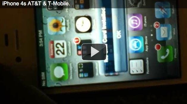 how to unlock iPhone 4s without jailbreak instructions and video