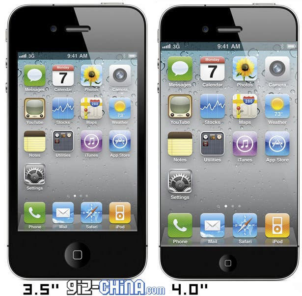 iphone 4s vs iphone 5 300x294 iPhone 4S vs  iPhone 4Iphone 4 Vs 4s Size