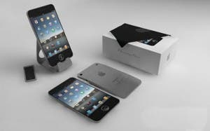 iphone 5 concept and box
