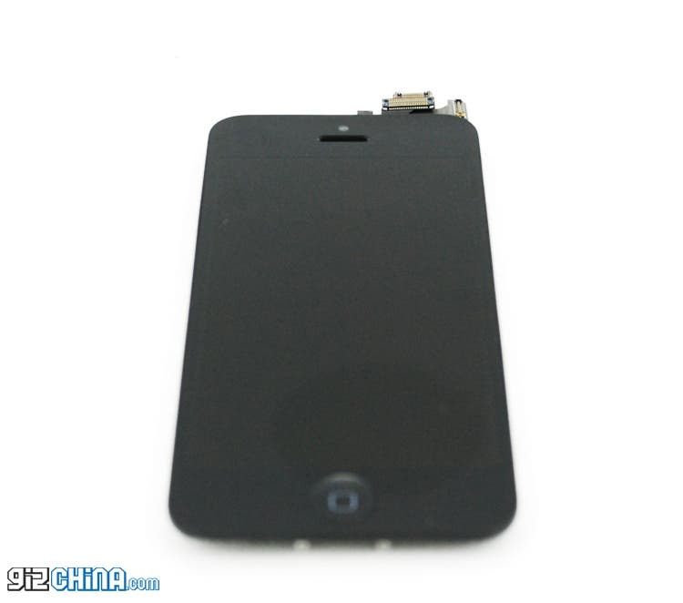 iphone 5 leaked front panel