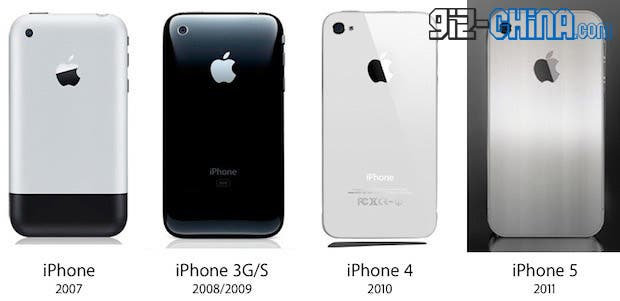 iPhone 5 getting 4 inch screen metal body
