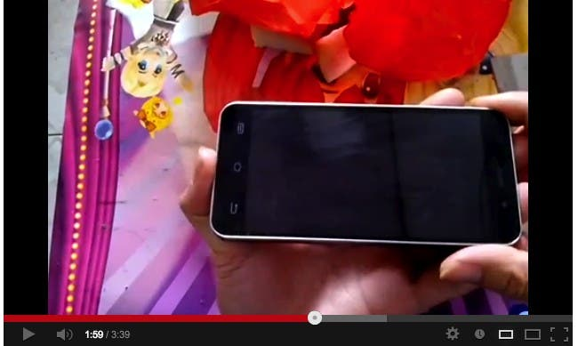 jiayu G4 gorilla glass test video