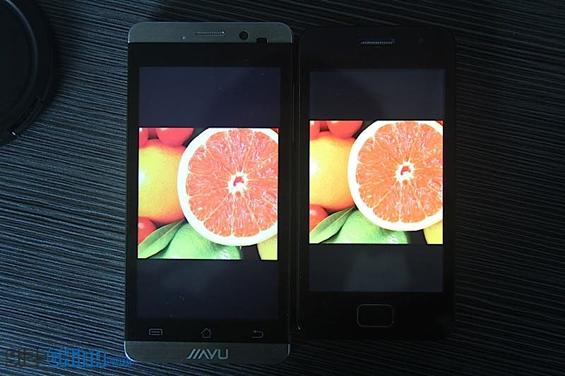 jiayu g3 screen test leaked photos