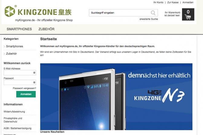 kingzone germany