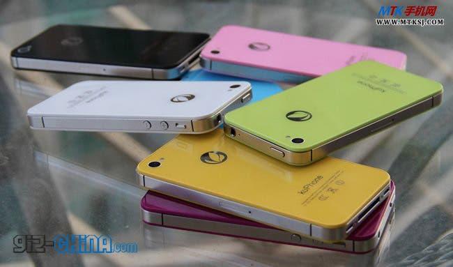 kuphone s9 android iphone 4s clone china