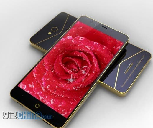 lando x02 quad-core 5-inch Chinese phone