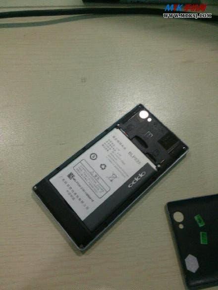 leaked oppo t29 dual core 3000 mah battery