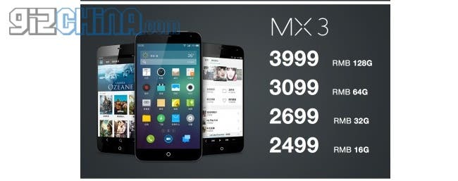 meizu mx3 launch hero