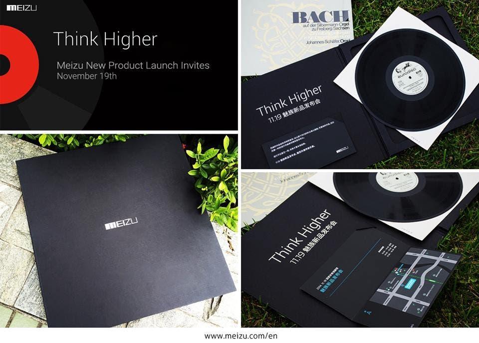 meizu mx4 pro launch invite