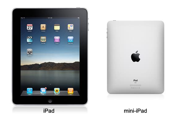7.85 inch iPad coming Christmas 2012