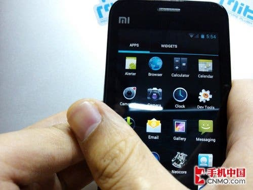 miui android 4 1 Xiaomi M1 Spotted Running Android ICS Video