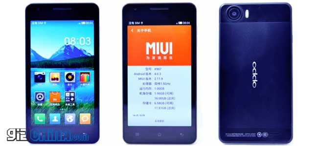 miui v4 for the oppo finder 3 coming soon