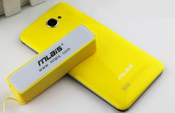 mlais mx58 yellow Mlais MX58 HTC Butterfly clone is 1080p $180 phone