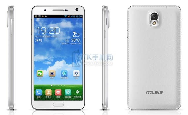 mlais mx69 samsung galaxy note 3 clone
