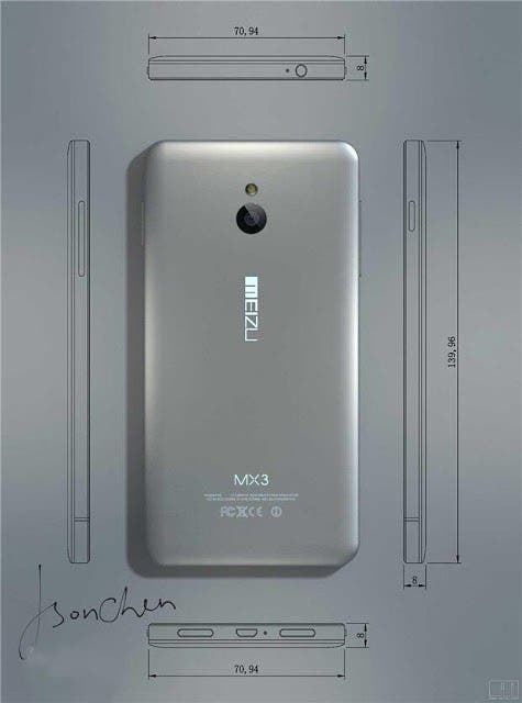 mx3back Meizu MX3 coming September 2nd!?
