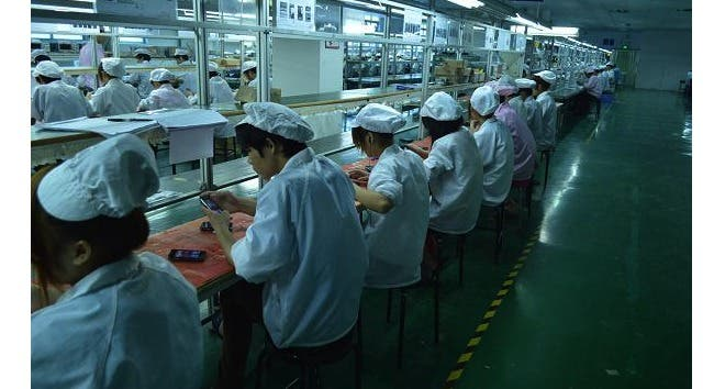 chinese phone factory