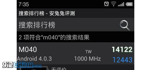 Rumour: Meizu MX2 could get dual-core A15 Samsung Orion CPU for 14121 Antutu