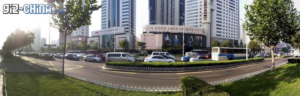 No car day china traffic jam