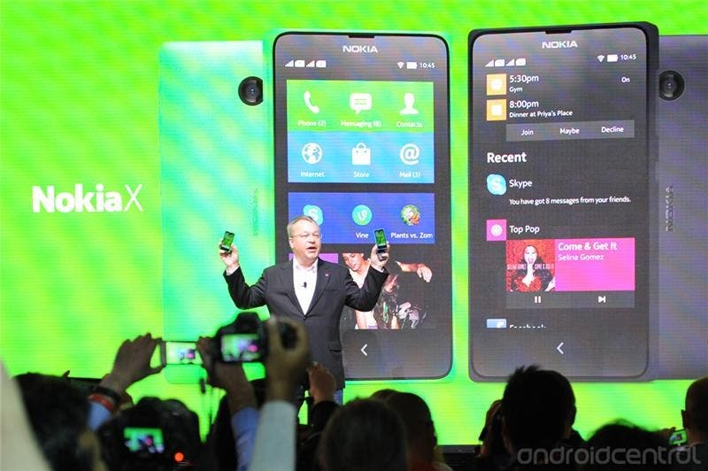 nokia X android mwc luanch