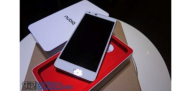 Nubia Z5 Hands on photos surface! Get's NFC and LTE!