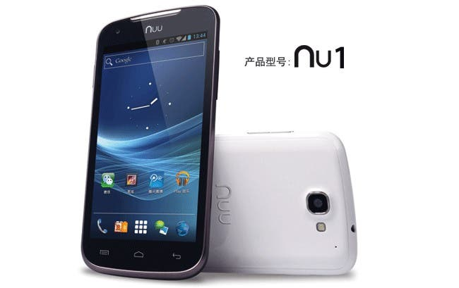 Nuu Nu1 packs a 1.7ghz Qualcomm CPU and 4.8-inch screen for $300