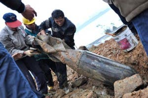 500kg Japanese bomb found in China