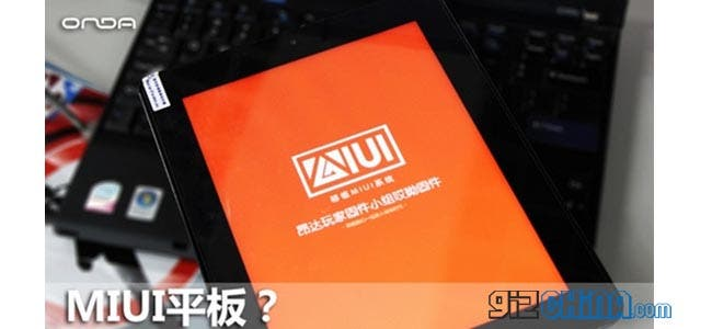 Onda V971 gets MIUI closest we'll get to a Xiaomi Tablet?