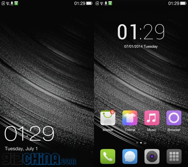 oneplus one coloros screenshots