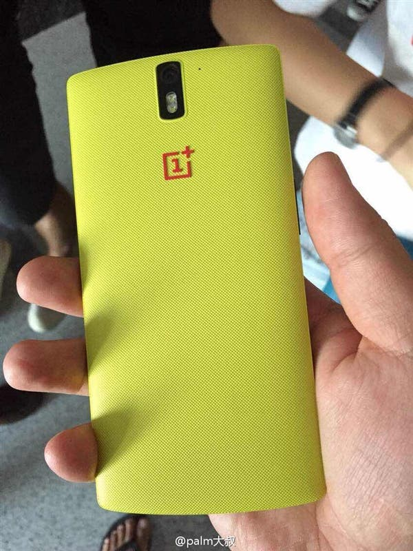 oneplus one yellow
