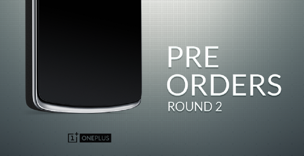 oneplus one pre order