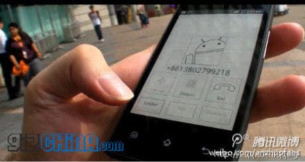 Onyx E-ink Android phone hands on video