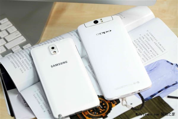 oppo n1 vs samsung galaxy note 3 5