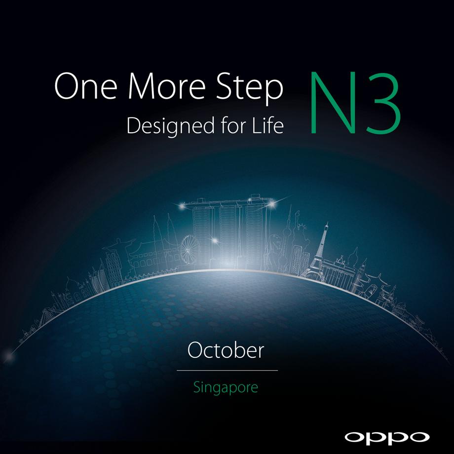 oppo n3 launch