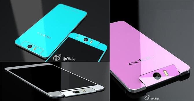 oppo n3 render colours