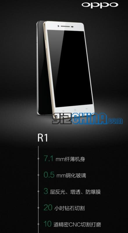 oppo r1 specifiations