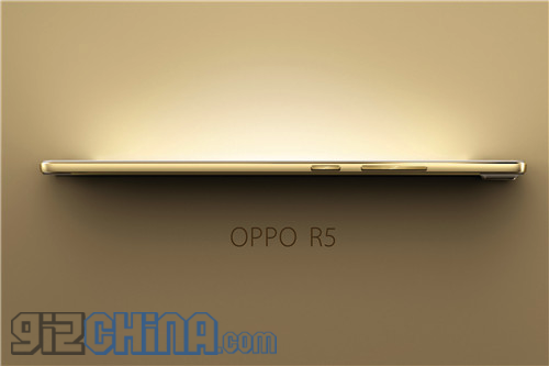 oppo r5 launch gold