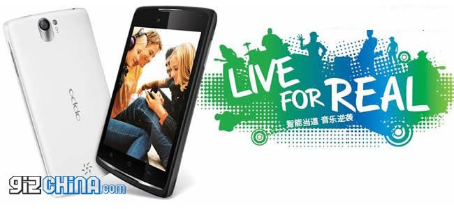 dual core mt6577 oppo r816 live android phone