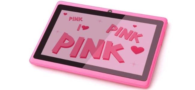 pink tablet 7-inc